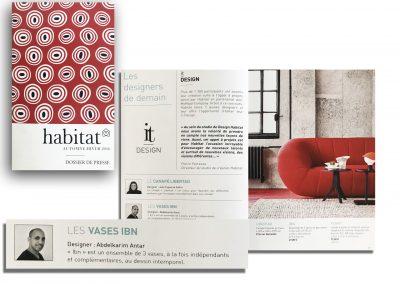 Catalogue Habitat, vases IBN