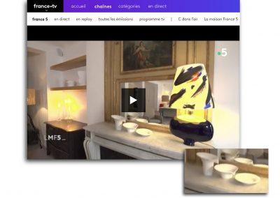Reportage France TV sur les vases IBN
