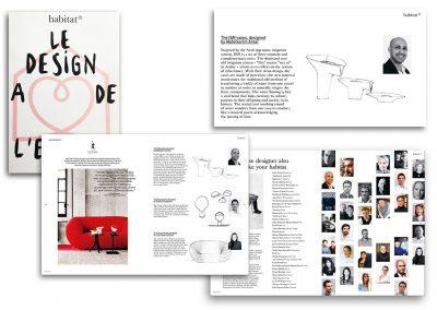 Article Le design à de l'esprit sur les vases IBN